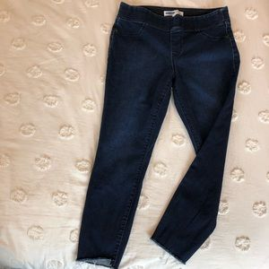 Old Navy Rockstar Step-Hem Jeggings